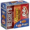 Hershey's Variety Pack Assortment (Hershey's Milk Chocolate Bars, Kit Kats & Reese's Peanut Butter Cups)