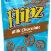 Flipz Pretzels, Milk Chocolate, 5-Ounce Packages (Pack of 12)