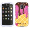 Huawei AT&T Fusion 2 Chocolate Strawberry Ice Cream Cone Cover