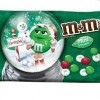 M&M Mint Chocolate Mint Christmas Candies 9.9 Ounce