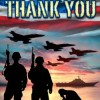 American Military Soldiers Patriotic House Flag-Thank you-28″ x 40″