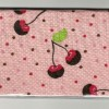 Chocolate Covered Cherry Pink Polka Dots Checkbook Cover