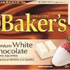 Baker's Premium White Chocolate Baking Squares, 6-Ounce Box