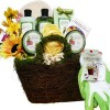 Art of Appreciation Gift Baskets   Gardeners Hand and Body Relief Green Tea Spa Bath and Body Set