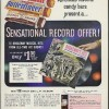 Baby Ruth Butterfinger Coconut Grove candy bar Broadway record offer ad 1960