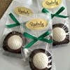 Chocolate Golf Ball Hand Dipped Oreo Cookie Candy Party Favors