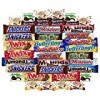 Ultimate Bar Chocolate & Candy Assortment Includes Snickers, Twix, Payday, Mounds, Almond Joy, 3 Musketeer More Bulk Sampler (40 Count)