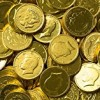 Solid Milk Chocolate Large Kennedy Gold Coins (1/2 Pound – 8 Oz)
