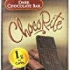 ChocoRite Dark Chocolate Bars, 5 Ounce