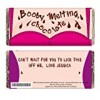 Personalised 'Booby Melting' Chocolate Bar – Ideal For Christmas – A Valentines – Anniversary – Romantic Treat!
