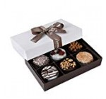 Barnett's Chocolate Cookies Favors Reward Box Sampler, Connoisseur Christmas Getaway Corporate Foodstuff Items, Moms & Fathers Day, Thanksgiving, Birthday or Get Properly Treatment Bundle Concept, six Special Flavors