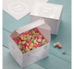 WILTON CANDY BUFFET FAVOR BOX 20 CT 120-551