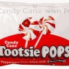 Peppermint Candy Cane Tootsie Pops