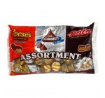 Hershey's Assortment (Rolo, Reese's Miniatures & Hershey's Kisses), 11-Ounce Bags (Pack of 4)
