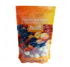 Chocolate Covered Fruit Medley Dragées – 24oz Pouch – by Dilettante (2 Pack)