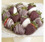 12 Golden State Chocolate Covered Strawberries