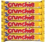 Crunchie Milk Chocolate with Honeycomb Center – Pack of 6 Bars
