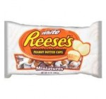 Reese's Peanut Butter Cups, White Chocolate Miniatures, 12-Ounce Bags (Pack of 4)