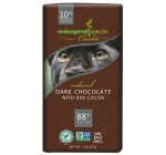 Endangered Species , Dark Chocolate (88%), 3-Ounce Bars (Pack of 12)
