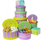Art of Appreciation Gift Baskets Congratulations Baby Gift Tower for Boys or Girls