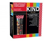 KIND PLUS, Dark Chocolate Cherry Cashew + Antioxidants, Gluten Free Bars (Pack of 12) – Frustration-Free Packaging