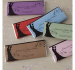 Wedding Favor Personalized Candy Bar Wrappers – Silhouette