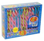 Jelly Belly (Tutti Fruitti, Blueberry, & Watermelon) Candy Canes 12ct.