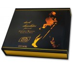 Turin Johnnie Walker Dark Chocolates Filled with Johnnie Walker Blended Scotch Whisky(5.6 Oz Gift Box)