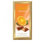 Lindt Milk Chocolate with Orange Filling, 3.5-Ounce Packages (Pack of 12)