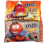 M&M Pumpkin Spice and Candy Corn Chocolate Candy 9.9 oz. each