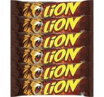 Nestle Lion Chocolate Bars, 6-Count