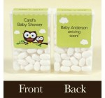 Owl Baby Shower Personalized Tic Tac Labels