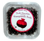 Trader Joe's Dark Chocolate Covered Pomegranate Seeds No Gluten Ingredients Used New