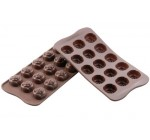niceEshop(TM) Silicone Chocolate Rose Mold Mould-Chocolate