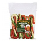 Ranch Rewards Tri-Color Munchy Candy Cane, 6-Inch, 120/Box