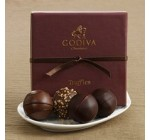 Godiva Chocolatier Signature Chocolate Truffle Assortment (4 pc.)