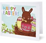 Amazon Gift Card – Print – Happy Easter (Chocolate Bunny)