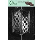 Cybrtrayd Life of the Party E131 Basket No Handle Easter Chocolate Candy Mold in Sealed Protective Poly Bag Imprinted with Copyrighted Cybrtrayd Molding Instructions, Large