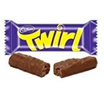 6- Pack of Twirl (Milk Chocolate Fingers) 34g Each , Made in Uk