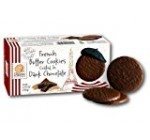 Pierre Biscuiterie French Butter Dark Chocolate Cookies, 4.76 oz (Pack of 2)