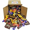 Chocolate Variety Pack Fun Size Mix, All Your Favorite Chocolate Bars Individually Wrapped Assortment, Including M&M, Snickers, Skittles, Twix and More In 8″ x 8″ x 8″ Bulk Box, 5 lbs