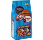 Hershey ALL TIME GREATS Candy Assortment, HERSHEY'S Milk Chocolate, REESE'S Peanut Butter Cups, WHOPPERS Candy and KIT KAT Bars, 38.9 Ounce Bag (Halloween Candy)