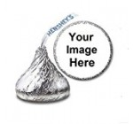 108 Custom Personalized Labels/Stickers for Hershey's Kisses Candies – Party Favors by JS&B Enterprises
