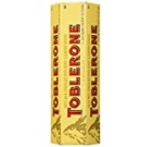TOBLERONE SWISS MILK CHOCOLATE WITH HONEY AND ALMOND NOUGAT 6 X 100 G BARS by Toblerone