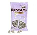 "KISSES Chocolates, Gluten-Free Solid Milk Chocolate Candy Wrapped in Wedding ""I Do"" Foil and Plumes, 48 Ounce Bag"