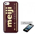 """iPhone5 cover mail order meiji """"milk chocolate"""" Graphic Software (iPhone 5 cases) snack / (japan import)"""