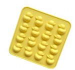Always Your Chef 16-Cavity Silicone Yellow Duck Chocolate Candy Making Molds Jello Gummy Handmade Soap Mold
