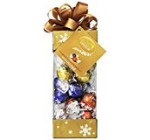 Lindt LINDOR Holiday Pinnacle Assorted Chocolate Truffles, Kosher, 6.8 Ounce Gift Box