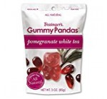 Bissingers Gourmet Gummy Pandas – Pomegranate White Tea (3.5 ounce)