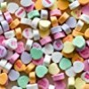 Classic Large Necco Sweethearts, 3lb Bulk Bag